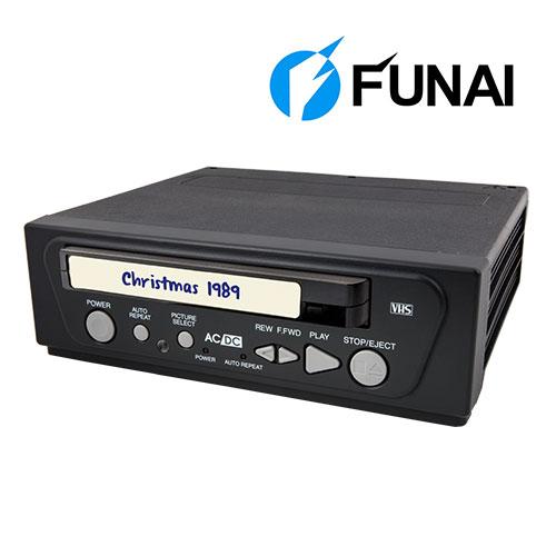 Open Box Funai Video Cassete Player