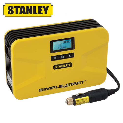 Open Box Stanley Simple Start Battery Booster