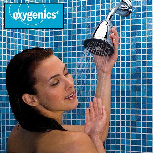 Open Box Oxygenics Trispa Showerhead