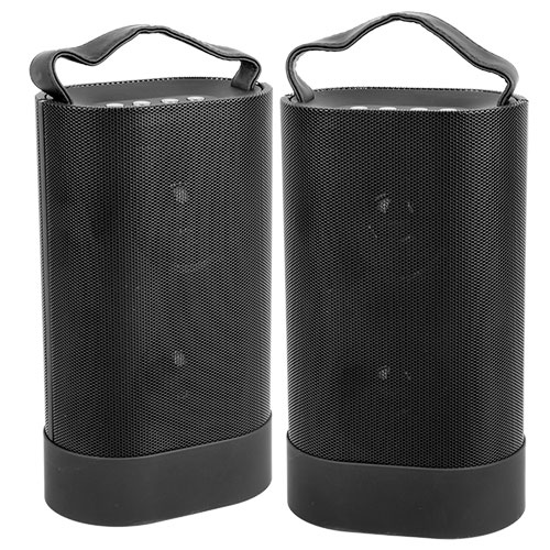 Open Box Indoor/Outdoor Bluetooth Speaker Pair
