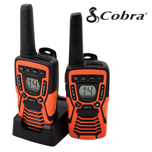 Cobra Floating Two-Way Radios