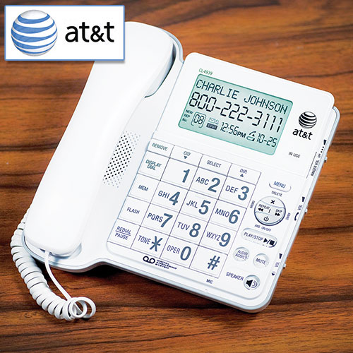 Open Box AT&T Audio Assist Corded Phone