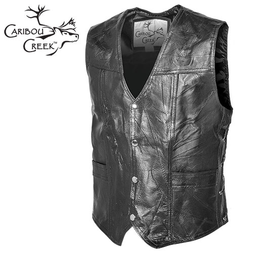 Blemished Classic Leather Vest