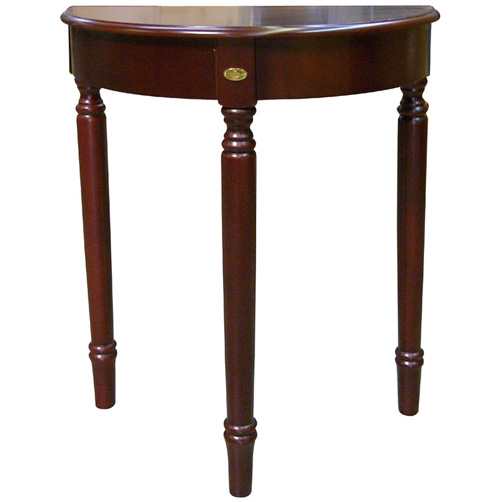 30 Inch Cherry Crescent End Table