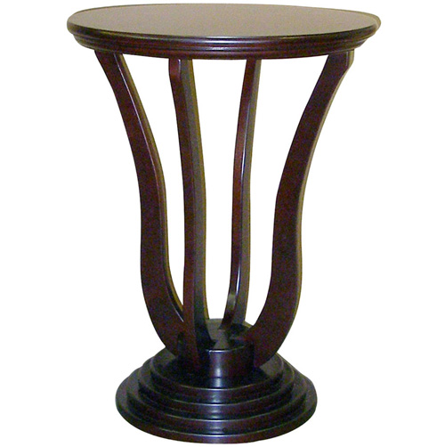 26.5 Inch Cherry Accent Table