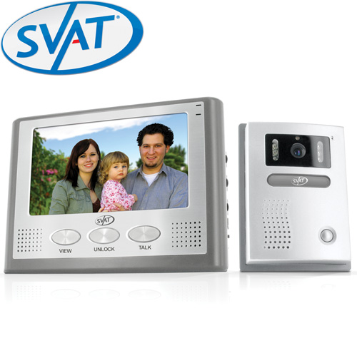 7 Inch LCD Video Intercom System