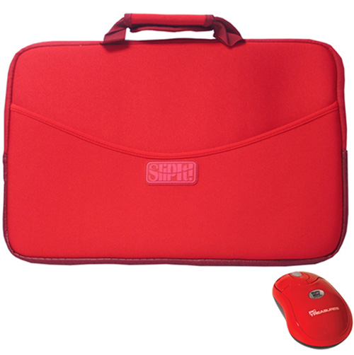 SlipIt 15 Inch Case with Mighty Mini Wireless Mouse