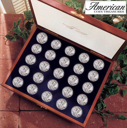 Complete Walking Liberty Half Dollar Collection