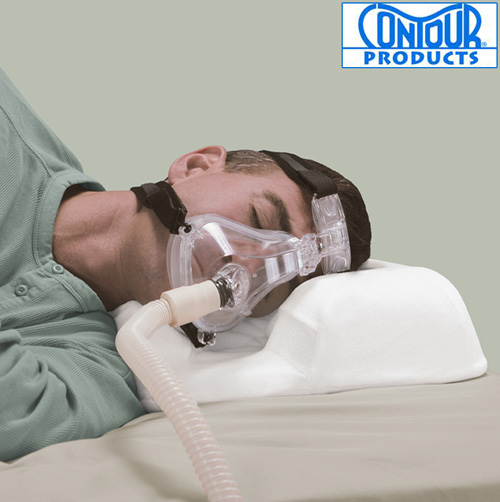Contour CPAP Pillow with Velour Cover