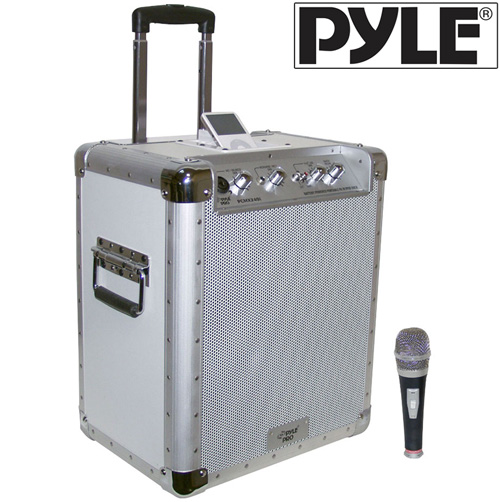 Portable PA System with iPod® Dock
