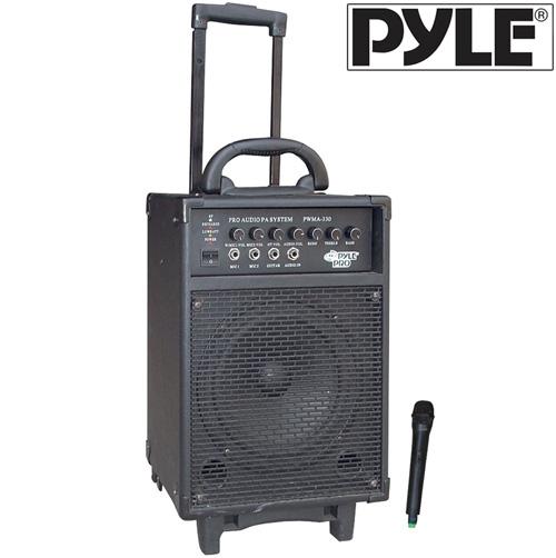 300W PA System W/Echo