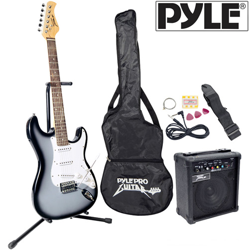 Electric Guitar Set-Silver