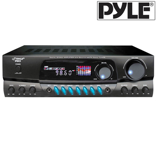 200W Digital Stereo Receiver