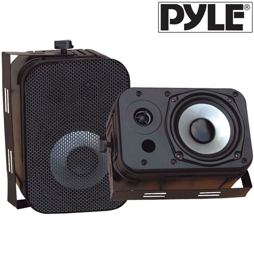 Waterproof Speakers-Black