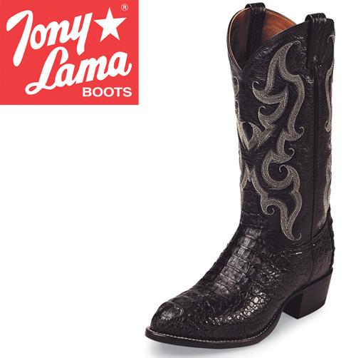 e43e60fa1a6 Heartland America: Tony Lama Black Caiman Boots