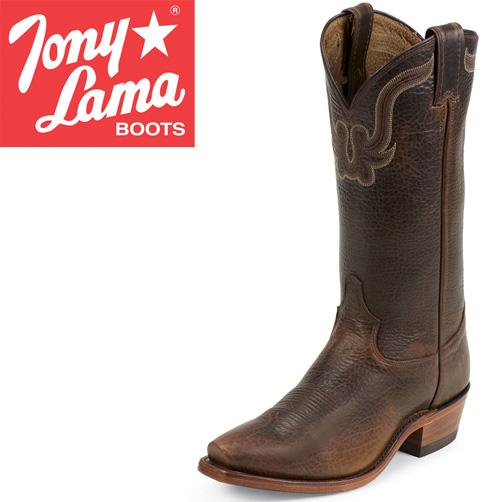 Tony Lama Bison Skin Boots