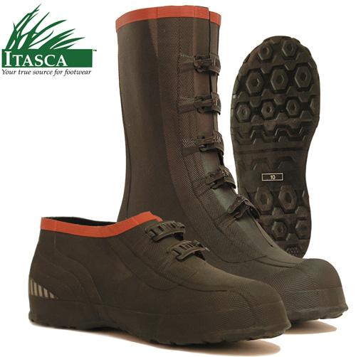 Itasca Mud Walker 5 Buckle Rubber Overshoes