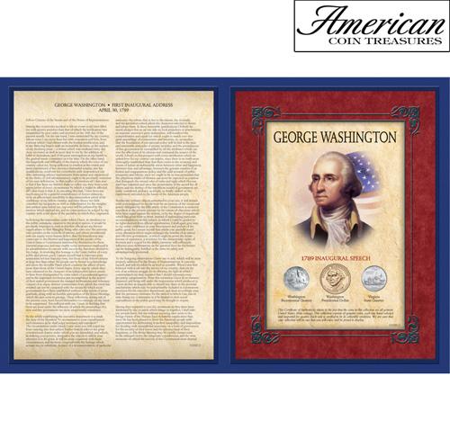 Famous Speech Series - George Washington First Inaugural Address