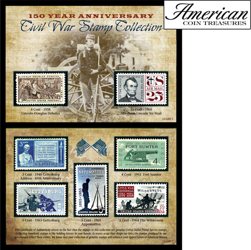 150th Anniversary Civil War Commemorative Stamp Collection