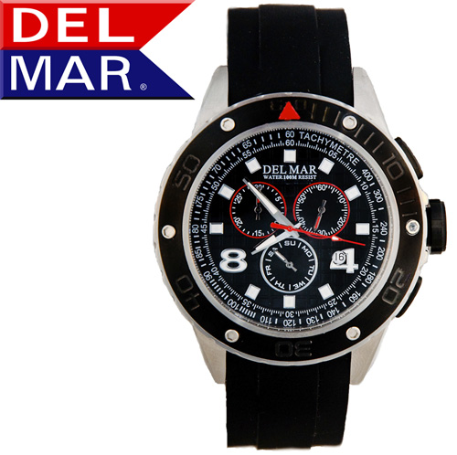 Del Mar® Rugged Swiss Chronograph Watch