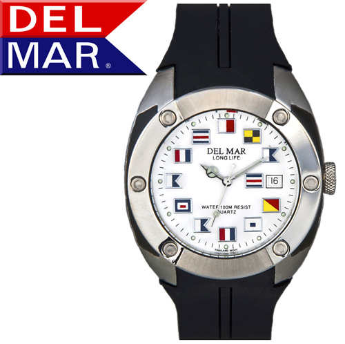 Del Mar® Nautical Dive Watch