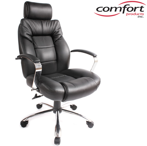 Commodore II Oversize Leather Chair