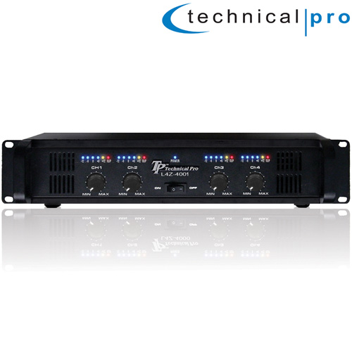 Pro 4CH Power Amplifier