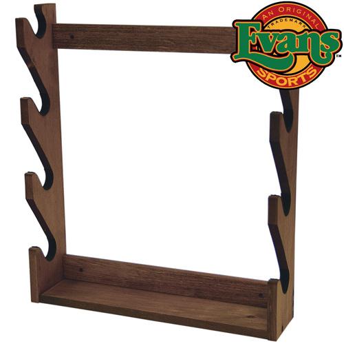 Wooden 4-Gun Rack