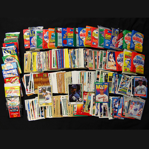 3 Decades of Baseball Cards