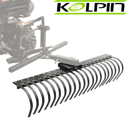 "60"" Rake Tines ATV attachment"