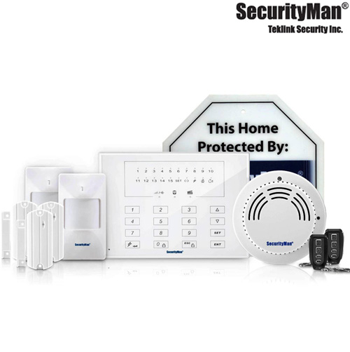 Deluxe Wireless Smart Home Alarm System