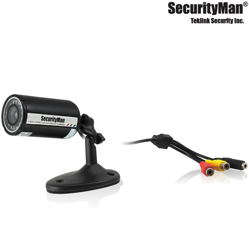 Weatherproof Wired Bullet Color Camera Kit