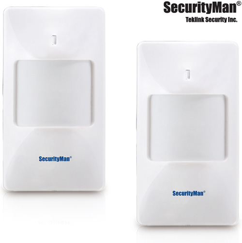 2pk Wireless PIR Motion Sensors