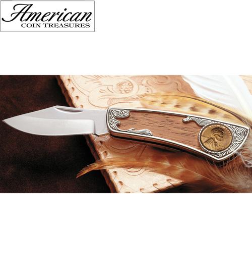 1909 Wheat Penny Pocket Knife