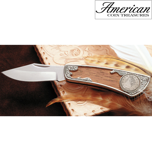 Liberty Nickel Pocket Knife
