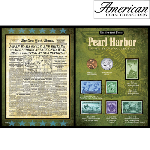 New York Times Pearl Harbor Portfolio