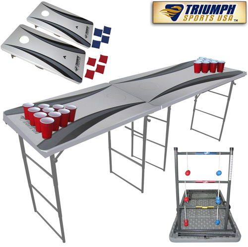 84 Inch 4-in-1 Tailgate Game