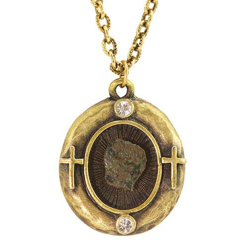 Windows Mite Coin Necklace