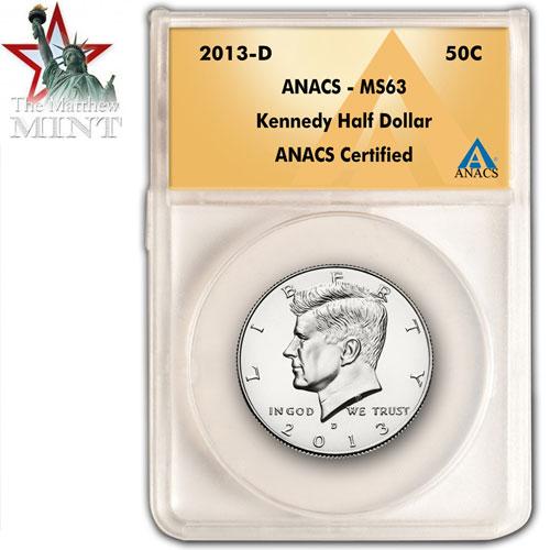 Kennedy Half Dollar 2013