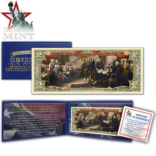 $2 Declaration of Independence