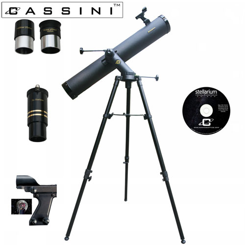 Tracker Reflector Telescope Kit - 1000 x 120