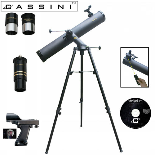 Tracker Reflector Telescope  Kit + Electronic Focus - 1000 x 120