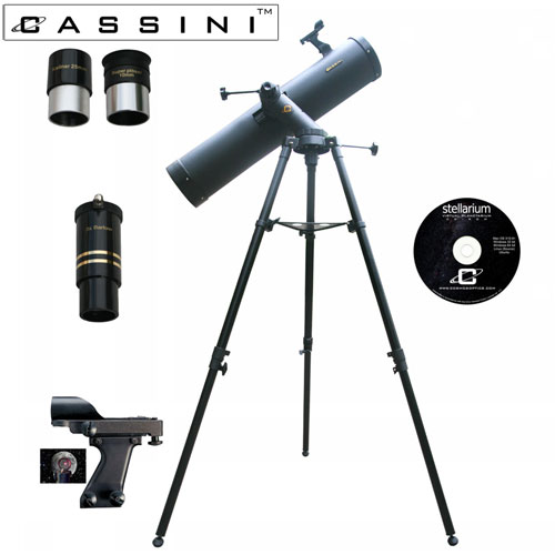 Tracker Reflector Telescope Kit - 900 x 135