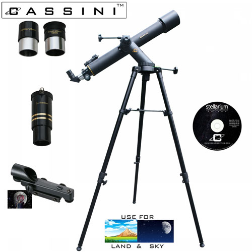 Tracker Refractor Telescope Kit - 800 x 72