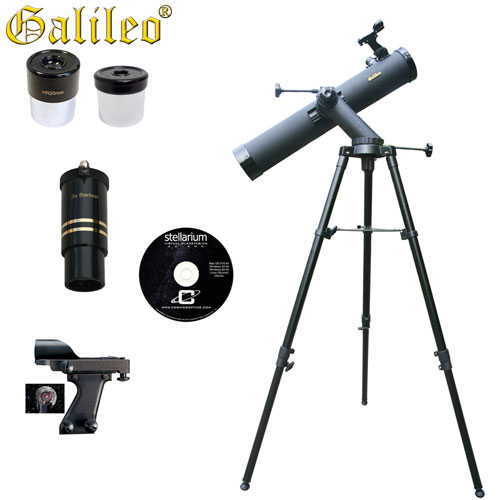 Tracker Astronomical Reflector Telescope Kit - 800 x 80