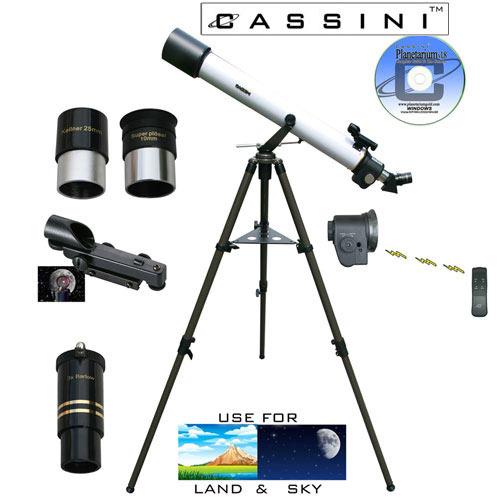 Electronic Focus Astronomical/Terrestrial Telescope - 800 x 72