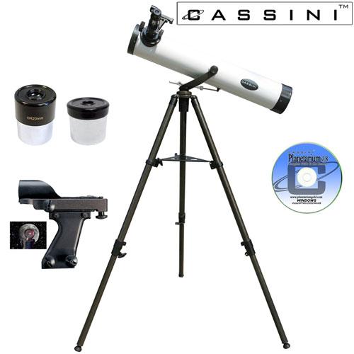 Astronomonical Reflector Telescope Kit - 800 x 80