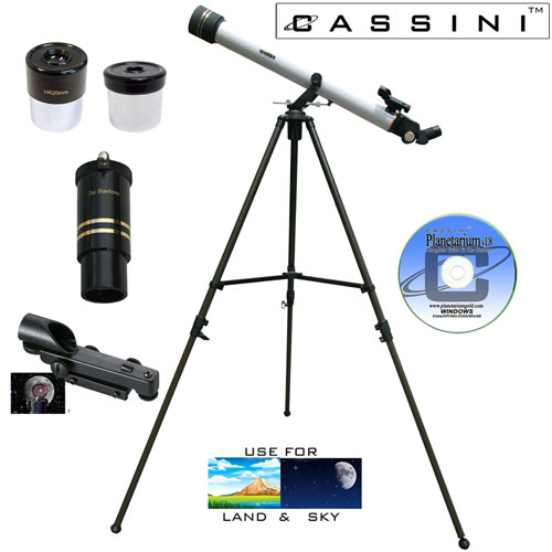 Refractor Telescope Kit - 800 x 60