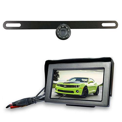 Back Up Wireless LCD Camera