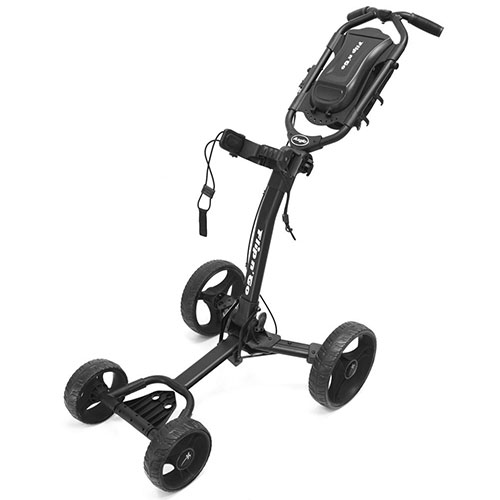 Black Flip-N-Go 4-Wheel Golf Cart